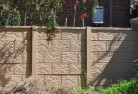 Barrier wall fencing