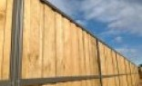Landscape Supplies and Fencing Lap and Cap Timber Fencing